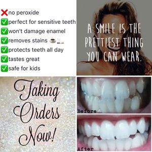 Other - WHITENING TOOTHPASTE I AM A LICENSED DISTRIBUTOR!